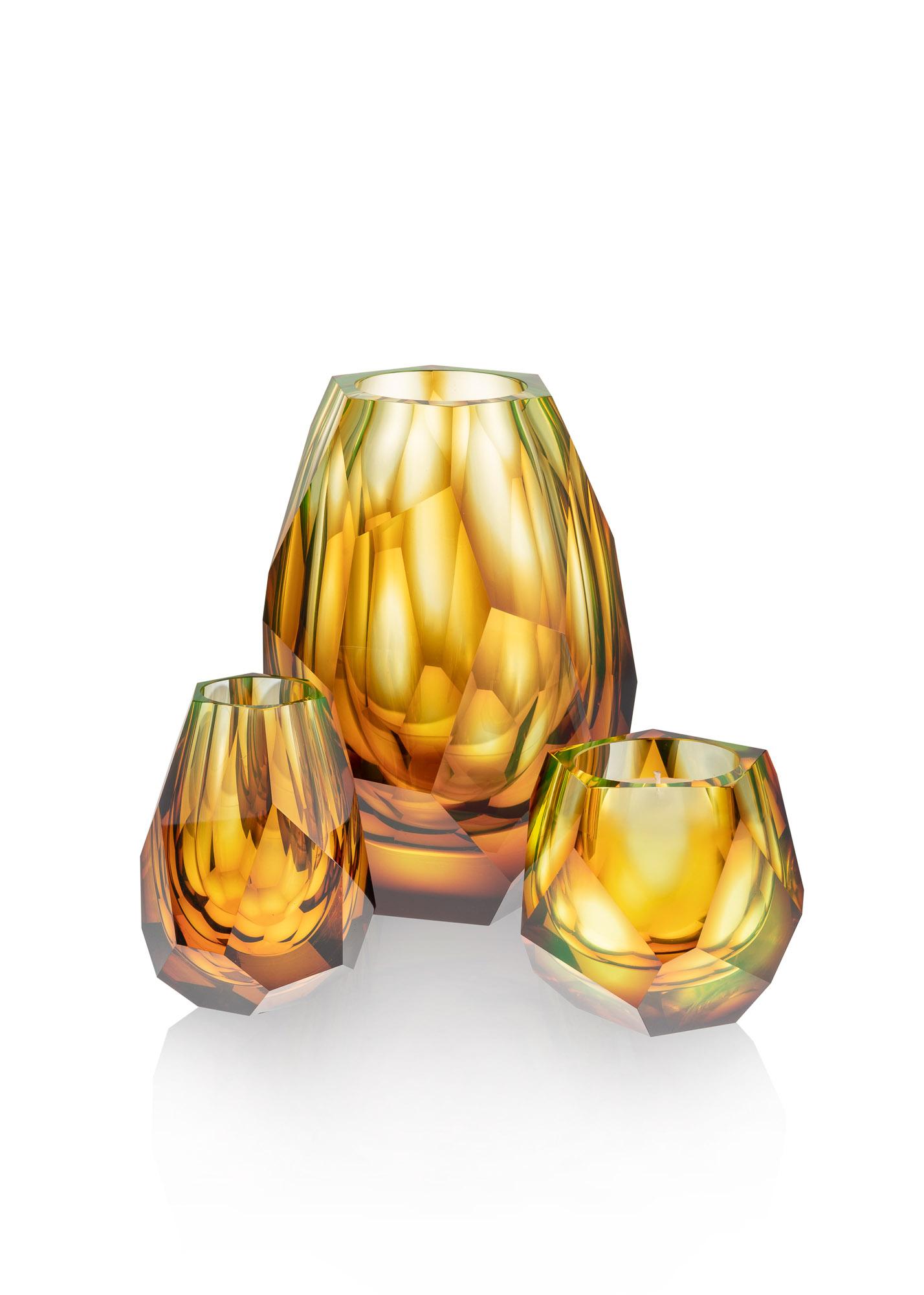 české designové sklo